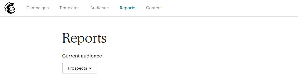 Mailchimp report
